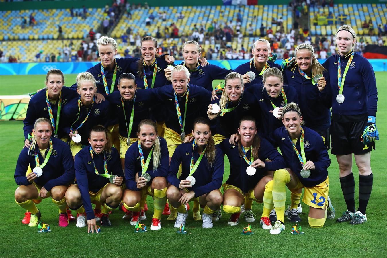 La Suède décroche sa première médaille d'argent