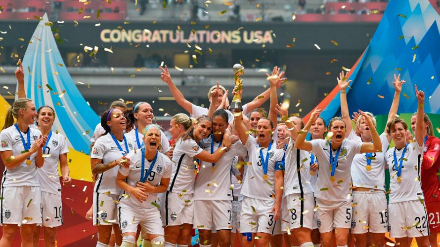 Les Etats-Unis tenants du titre (photo FIFA.com)