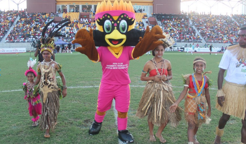La mascotte de la Coupe du Monde U20 (photo FIFA.com)