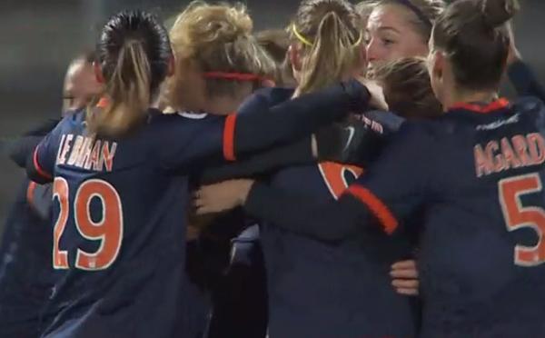 Montpellier empoche une 5e victoire (image TV Eurosport 2)