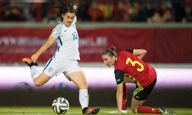 Karen Caren compte 119 sélections et 31 buts avec le match anglais (photo FA)