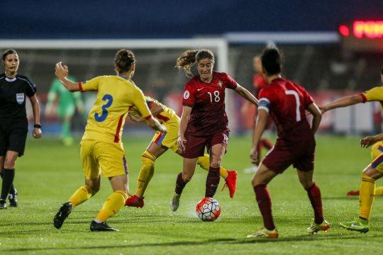 Carolina et le Portugal joueront la qualification au retour mardi prochain (photo FPF)