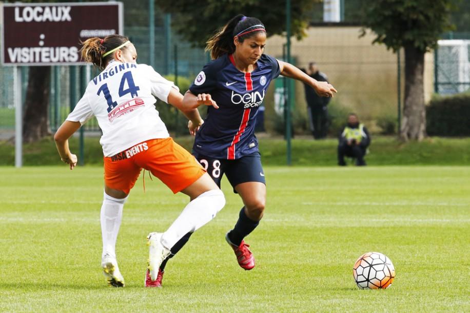 La confrontation de la saison dernière entre PSG et Montpellier s'était jouée exceptionnellement au Camp des Loges (0-0) (photo PSG.fr)