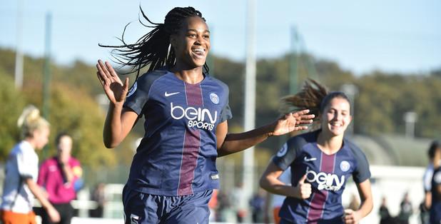 Katoto a inscrit le but de la victoire (photo PSG.fr)