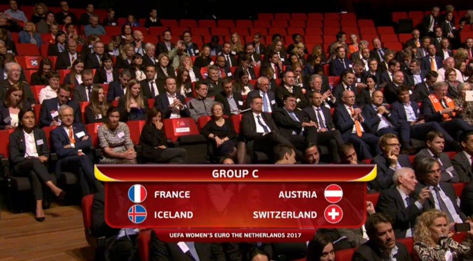 Euro 2017 - Bon tirage pour les Bleues avec SUISSE, ISLANDE et AUTRICHE