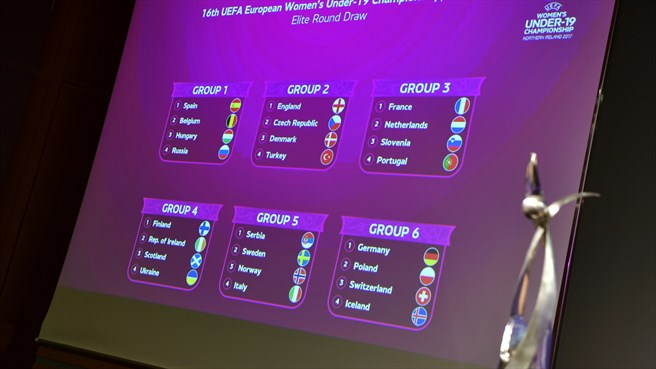 Le tirage (photo Getty Images/UEFA.com)