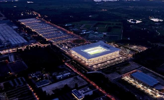Le stade est d'une capacité de 42 000 places (photo DR)