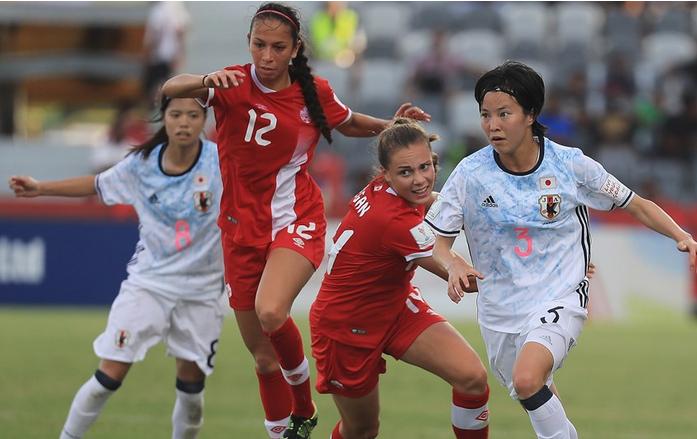 Battue au premier match, l'équipe japonaise a profité de la défaite espagnole (photo FIFA.com)