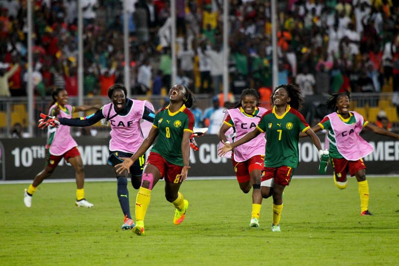 Le Cameroun jubile (photo CAF)