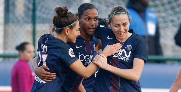 Delie porte son total à huit buts cette saison (photo PSG.fr)
