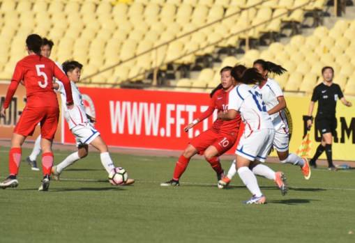 La première rencontre qualificative pour la coupe du Monde U20 a oppsé Taïwan à Hong Kong (photo TFF)