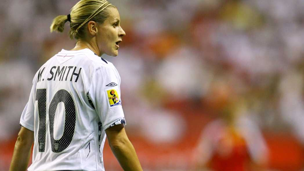 Kelly Smith, 117 sélections et 46 buts (photo FA)
