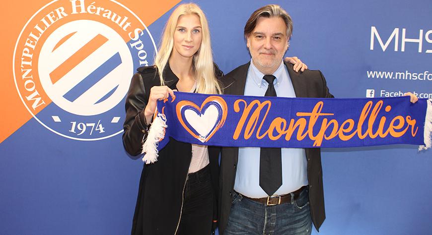 Jakobsson, qui a prolongé avec Montpellier, rejoint la sélection cette semaine (photo MHSC)