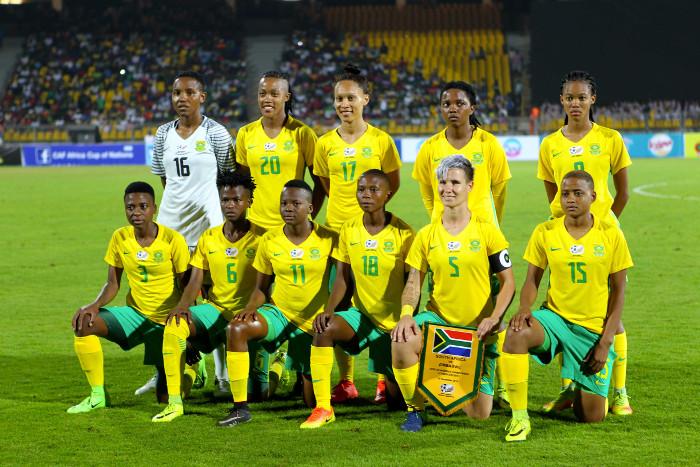 L'Afrique du Sud a terminé quatrième de la CAN 2016 au Cameroun