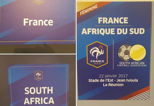 Bleues - FRANCE - AFRIQUE DU SUD : Méline GERARD titulaire