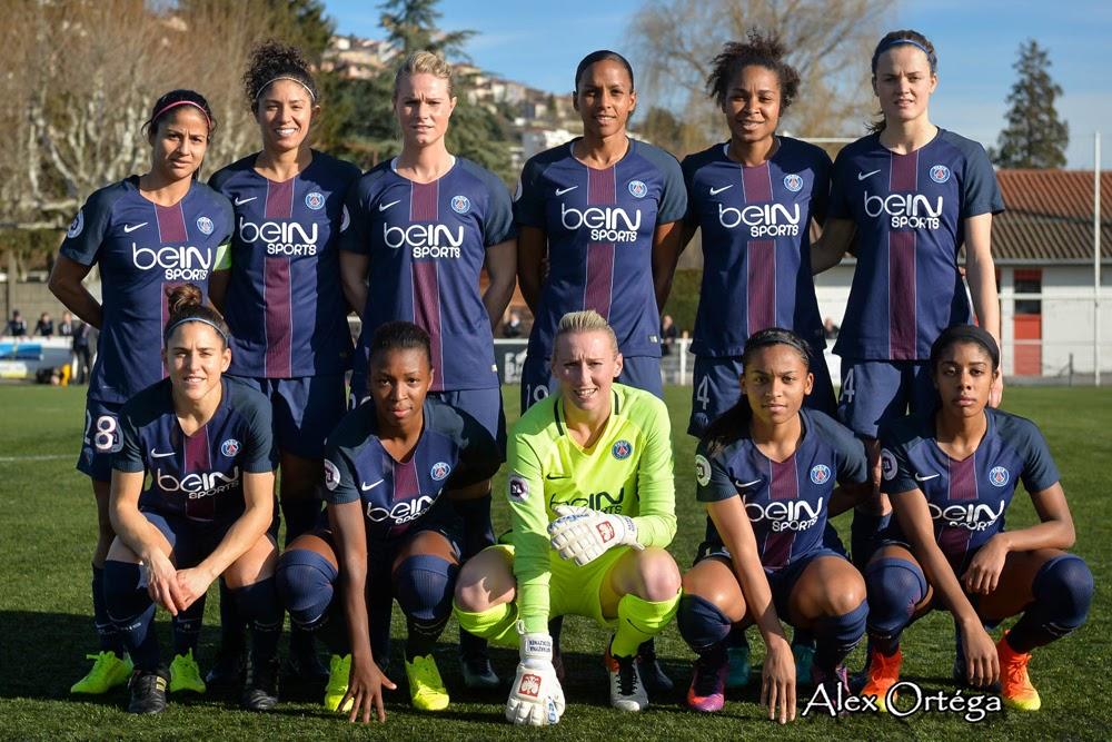 #D1F - Le PSG a refroidi les Stéphanoises (6-0)