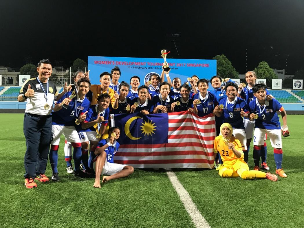 La Malaisie remporte le tournoi de développement organisé à Singapour