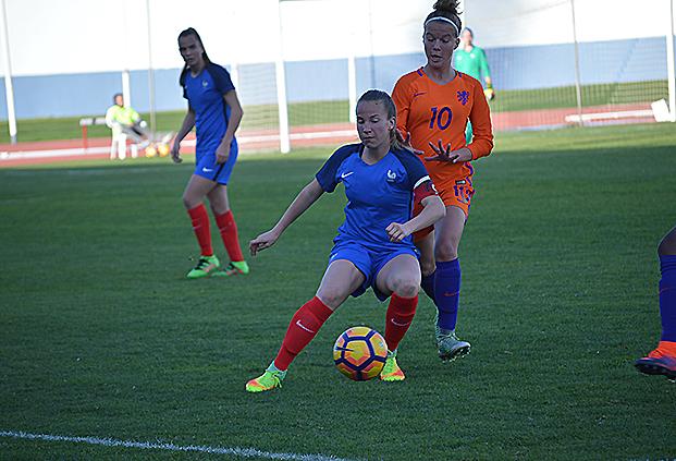 Succès pour Touzeau et la France dans ce premier match (photo FFF)