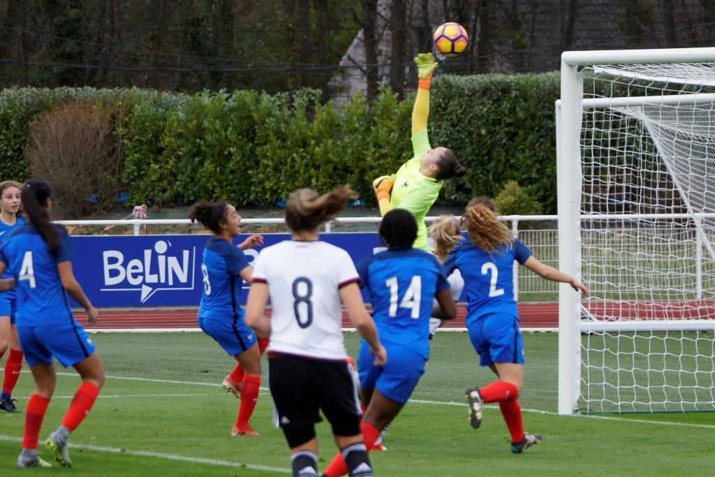 U17 - La FRANCE s'incline face à l'ALLEMAGNE (2-3)
