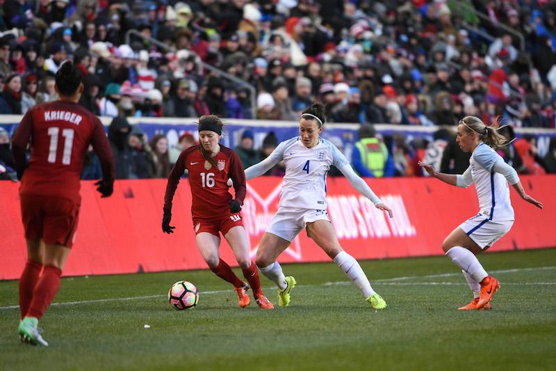 Lavelle, nouvelle joueuse américaine, se sera mis en évidence (photo US Soccer)