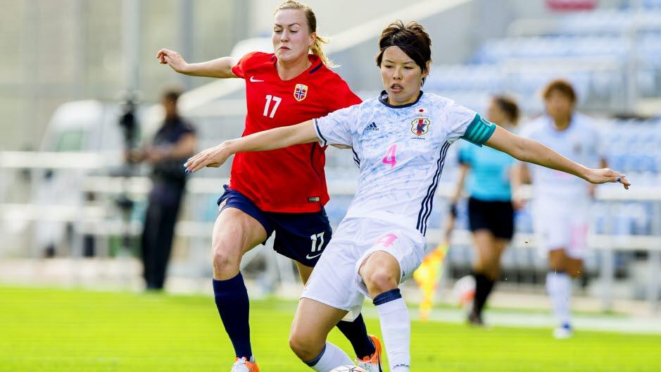 Kumagai et le Japon ont infligé une défaite à la Norvège d'Hegerberg