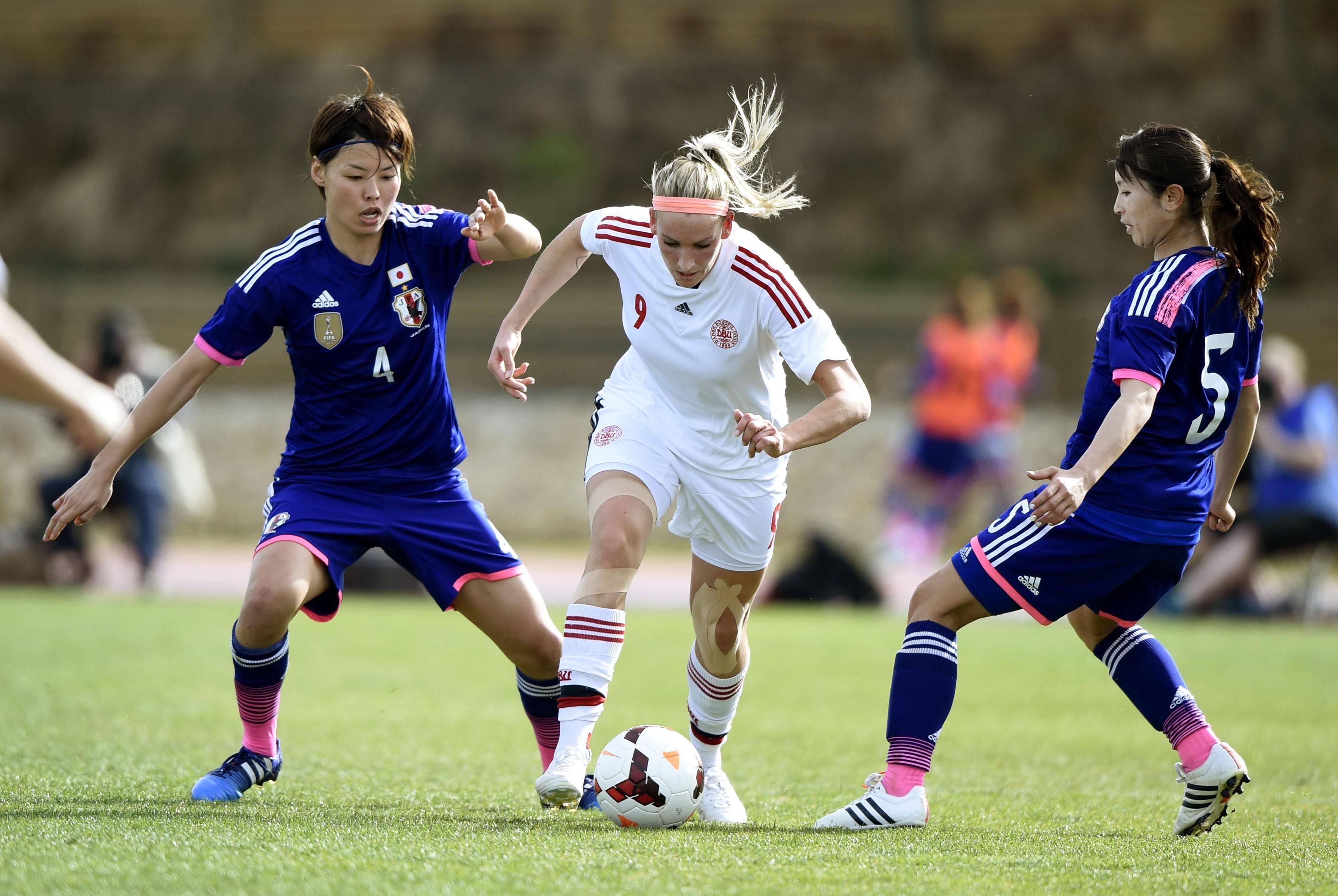Saki Kumagai, à gauche, avec 360 minutes, n'a manqué aucune minute avec sa sélection
