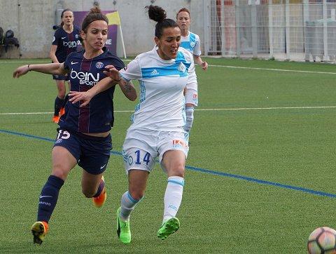 Gadea et l'OM, après le PSG, effectuent un test face à une équipe du quatuor, Montpellier, ce samedi (photo footofeminin)
