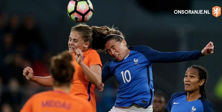 Rencontre accrochée pour les Bleues aux Pays-Bas (photo KNVB)