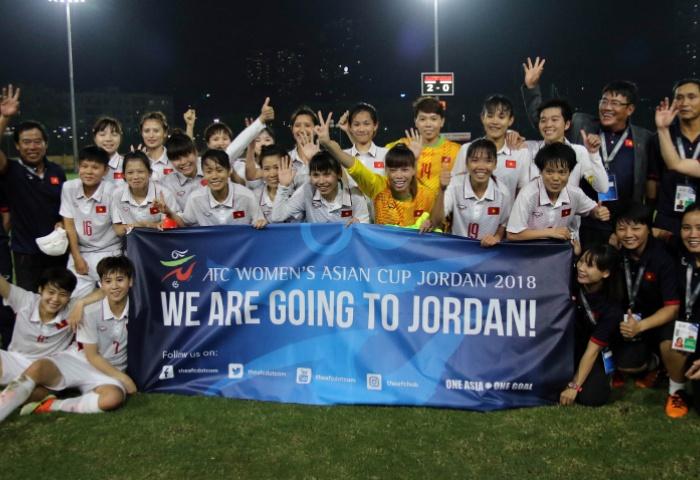 Le Viêt Nam jouera la phase finale en Asie (photo AFC)