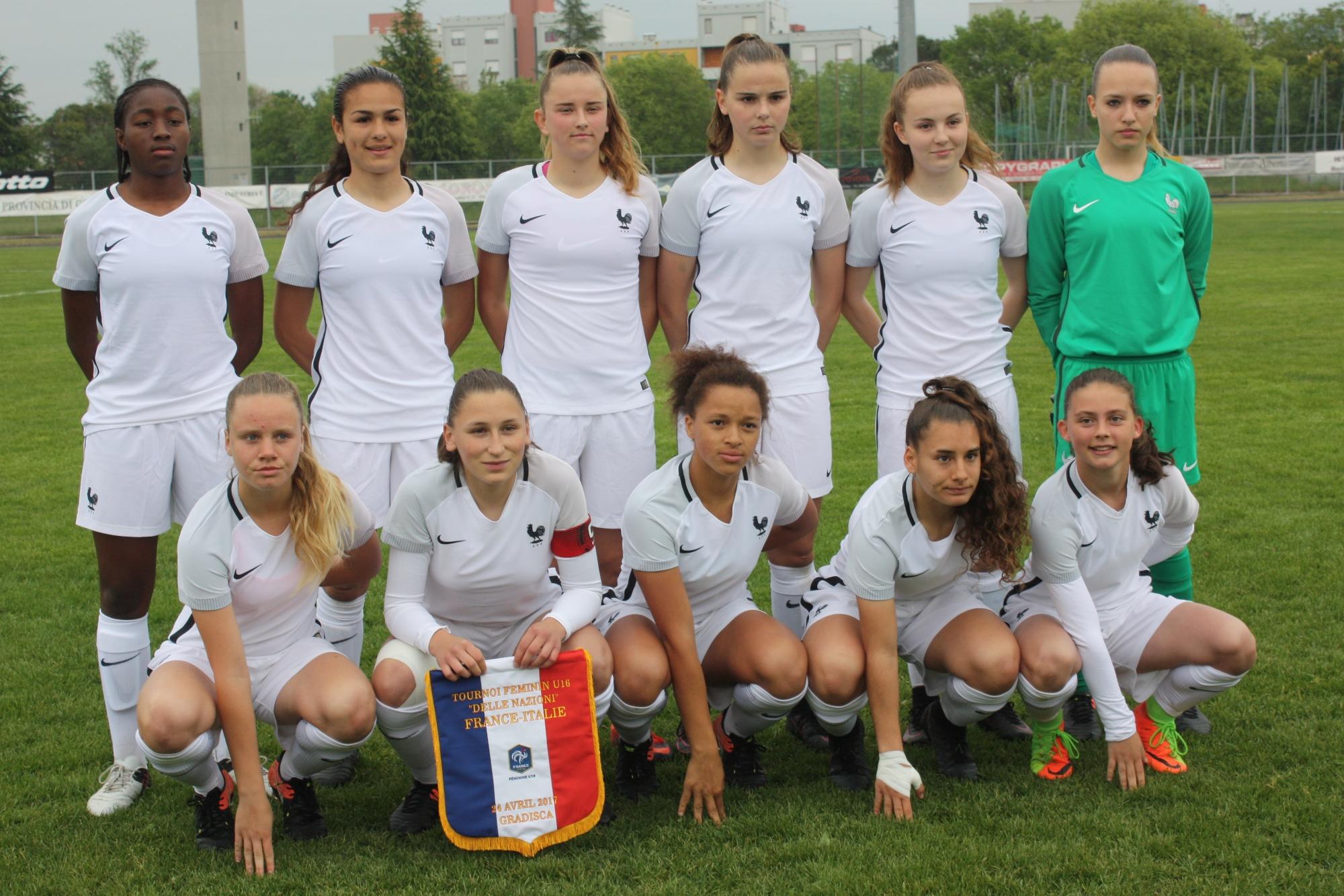 Le onze tricolore (photo Sébastien Duret)