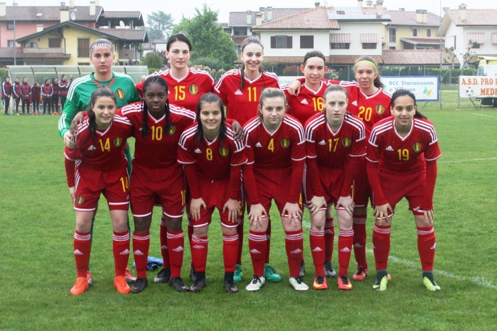 U16 - Torneo delle Nazioni : La FRANCE surprise par la BELGIQUE