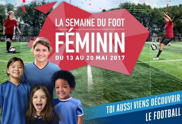 """Sixième édition de la """"Semaine du Football Féminin"""" du 13 au 20 mai"""