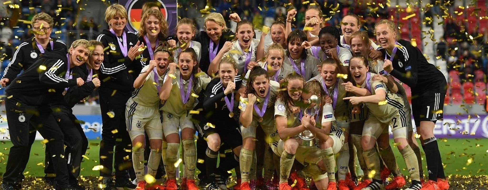 L'Allemagne encore sur le toit de l'Europe en U17 (photo UEFA)