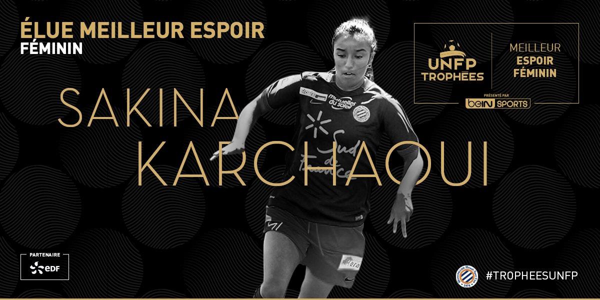 #D1F - Trophées UNFP : Dzsenifer MAROZSAN meilleure joueuse, Sakina KARCHAOUI, meilleure espoir