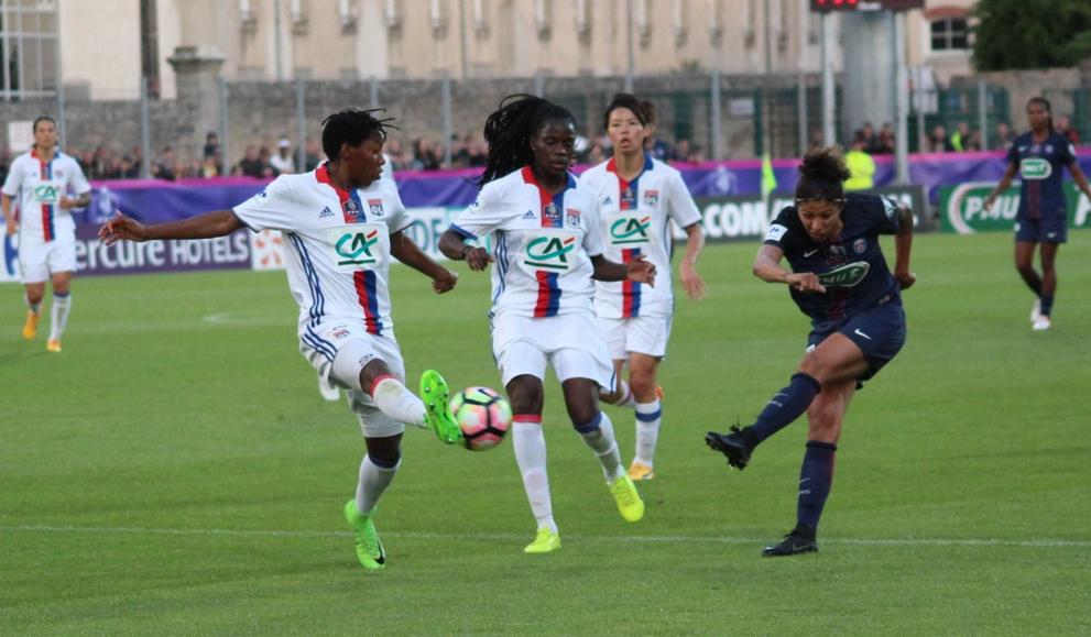 Cristiane avait ouvert le score (photo Ligue Bretagne)