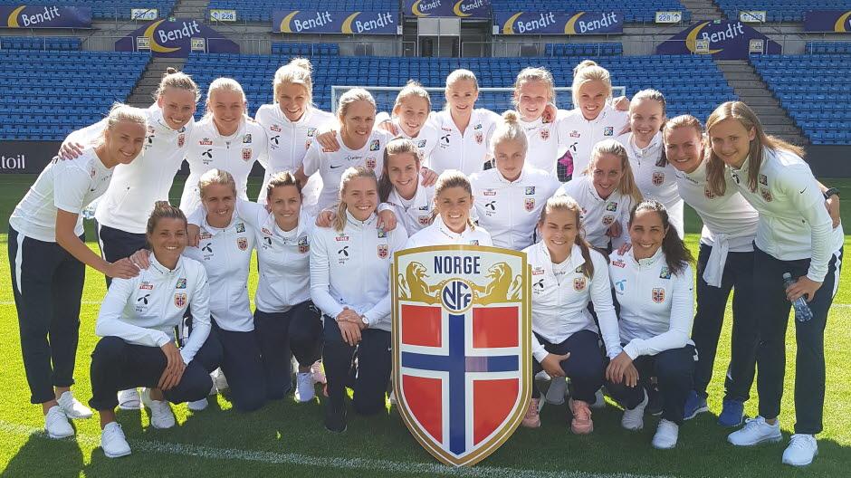Bleues - Le test norvégien avant l'Euro