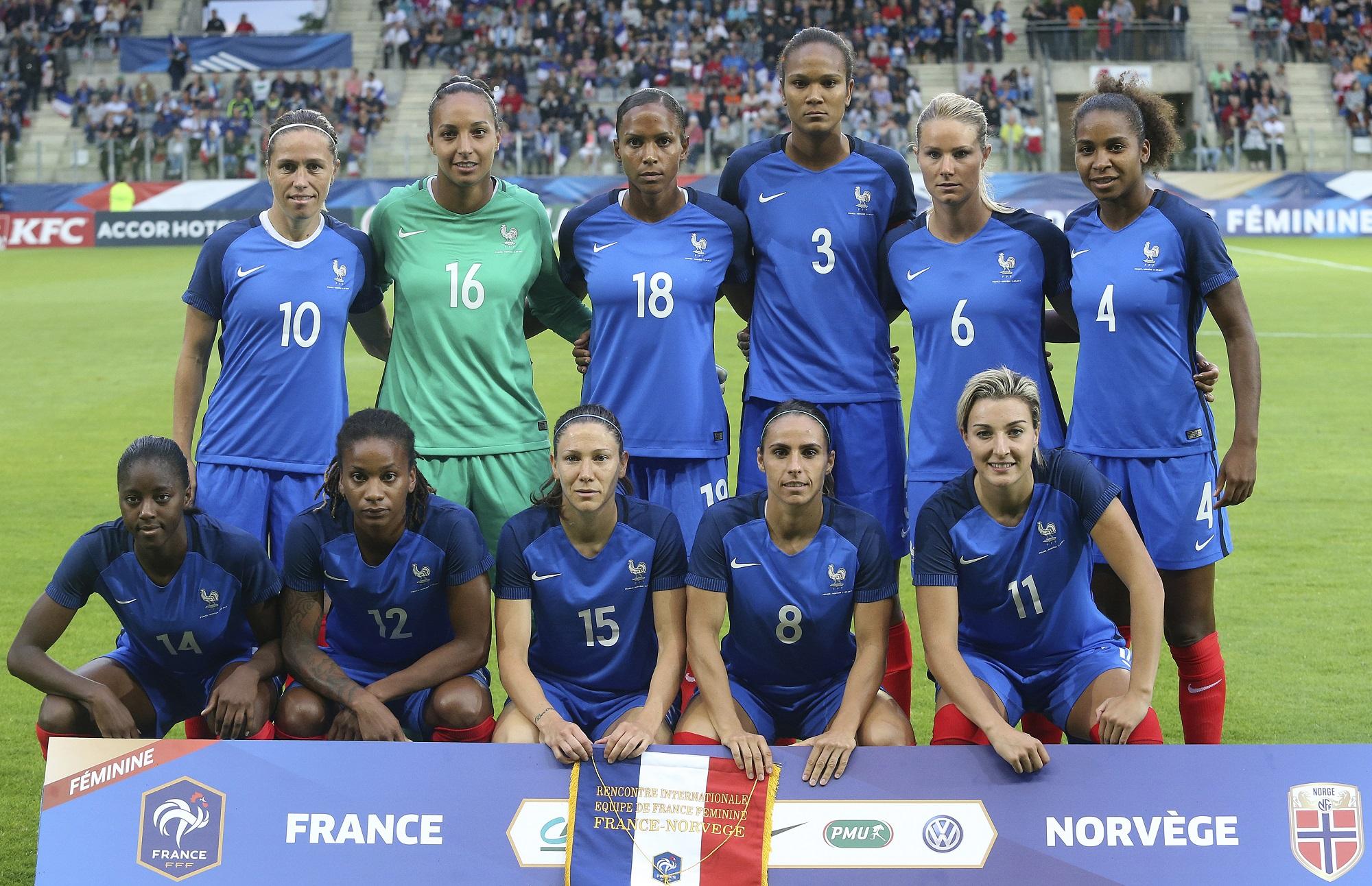 Bleues - La FRANCE termine sa préparation sur un nul