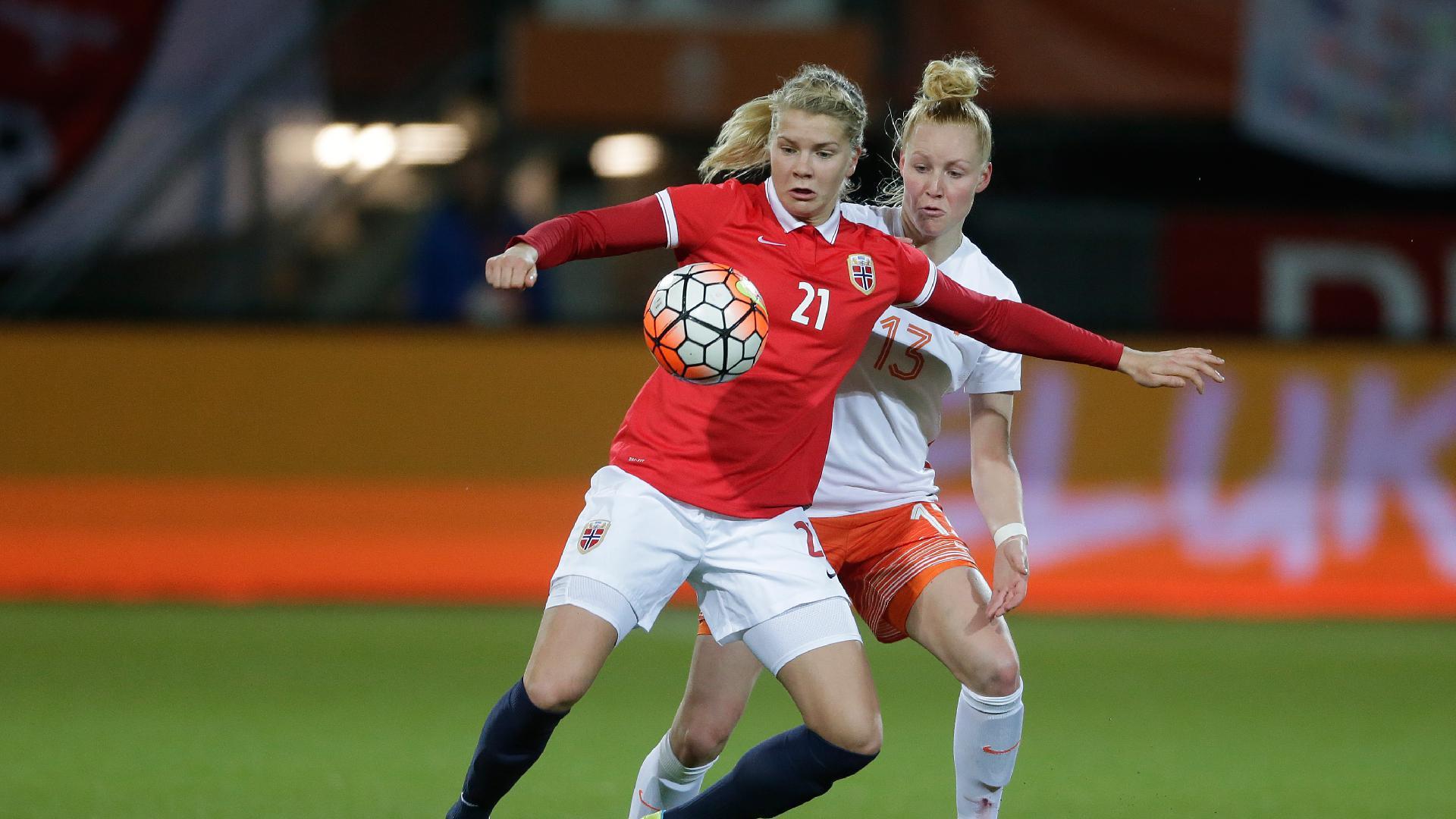 Les Pays-Bas débutent face à la Norvège d'Ada Hegerberg (photo KNVB)