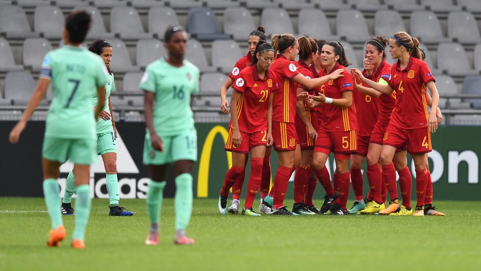 L'Espagne fait la différence avant la pause (photo UEFA.com)