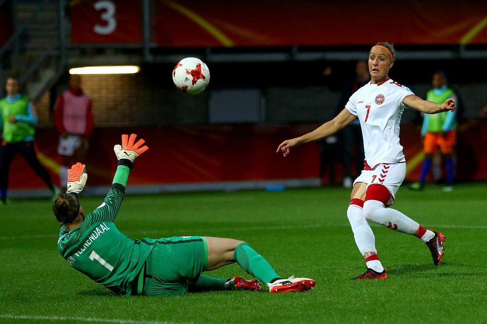 Troelsgaard a manqué de nombreuses occasions (photo UEFA.com)