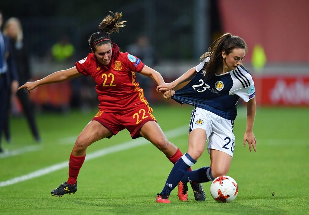 Caldentey et l'Espagne ont péché dans la finition (photo UEFA.com)