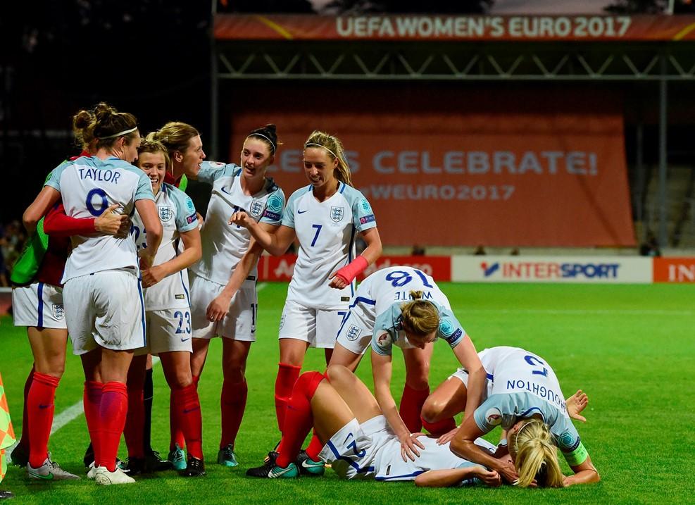 Les Anglaises continuent l'aventure grâce à Taylor (photo UEFA.com)