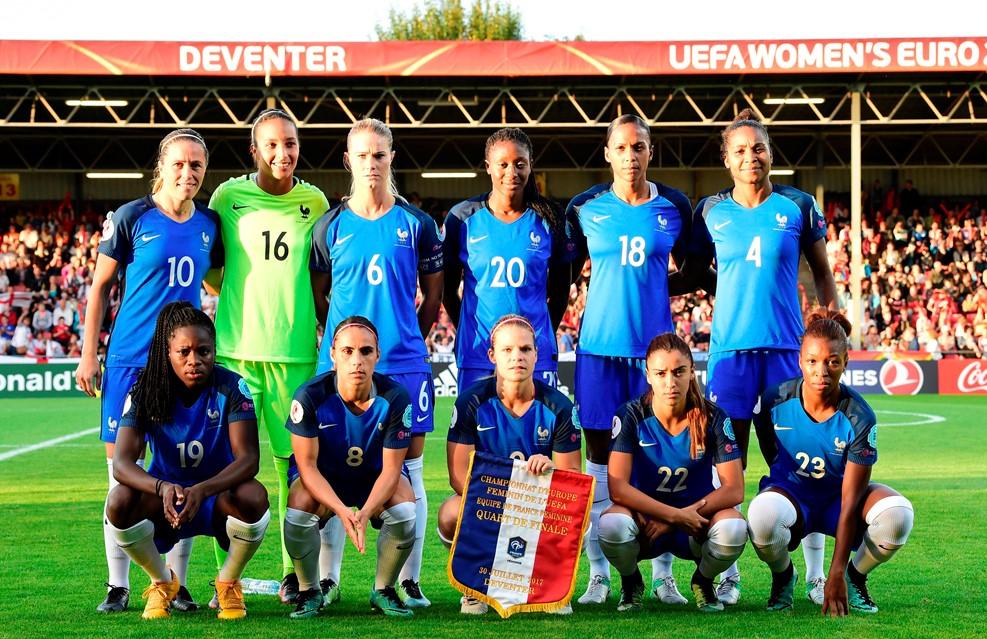 #WEURO2017 - La FRANCE à nouveau stoppée en quart