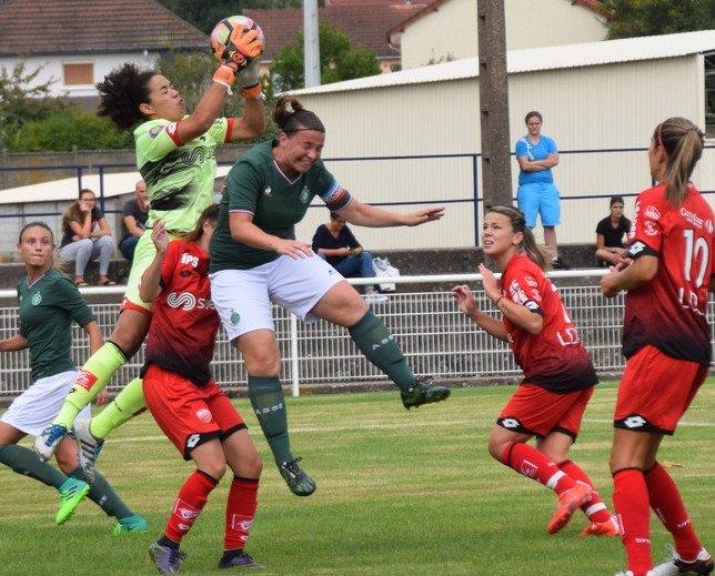 Mainguy s'incline avec Dijon face à Saint-Etienne