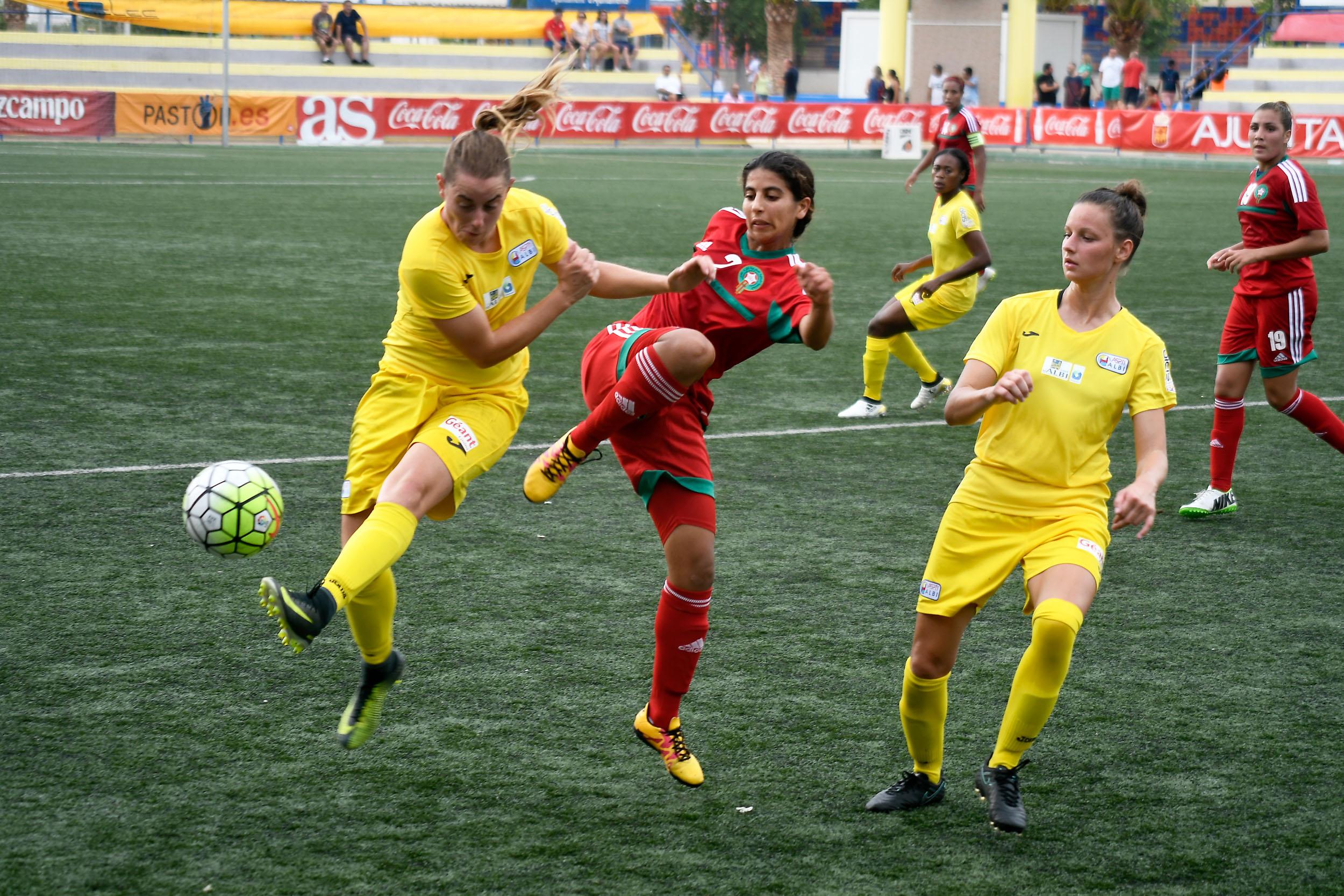 Albi battu par le Maroc (1-5)