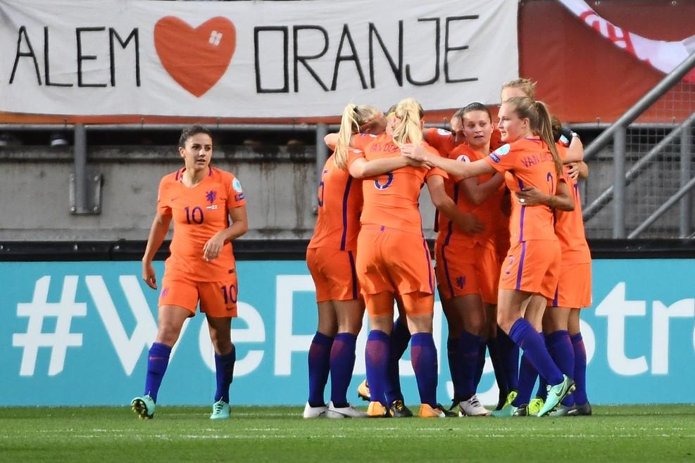 """#WEURO2017 - Les PAYS-BAS en finale de """"son"""" Euro"""