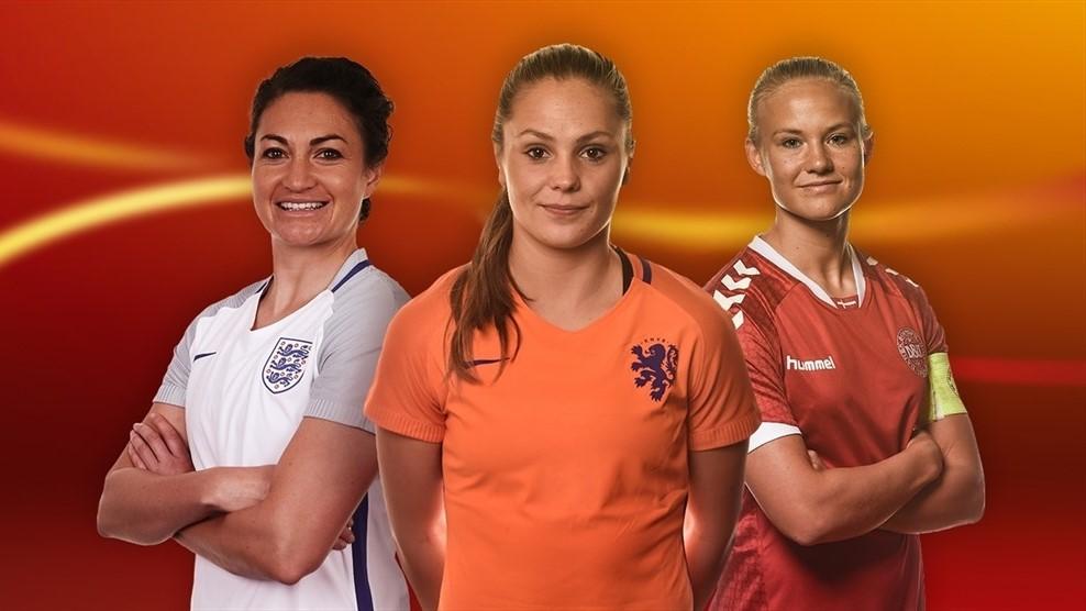Taylor, Martens, Harder, trois joueuses qui ont marqué l'Euro