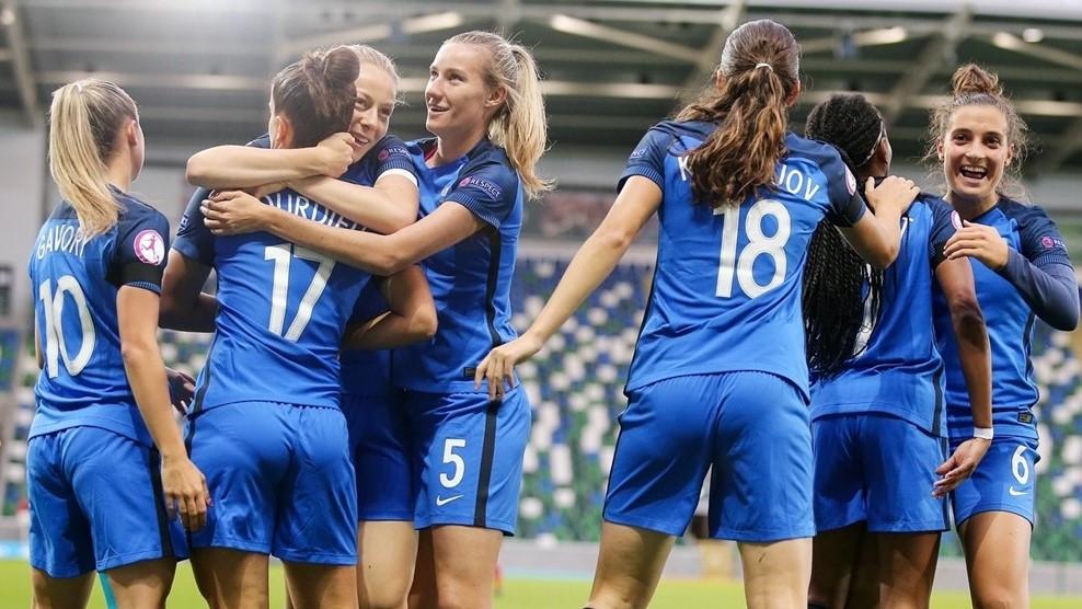 La France a mené deux fois au score