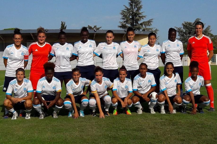 L'OM lors de son dernier match amical face à St-Etienne (photo OM.net)