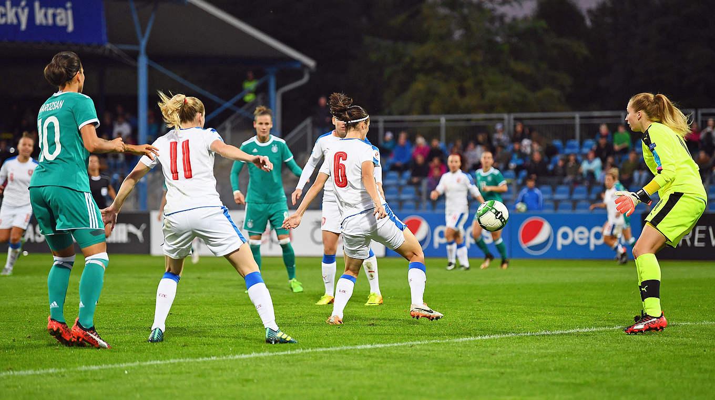 Le but contre son camp tchèque a offert la victoire à l'Allemagne (photo DFB)
